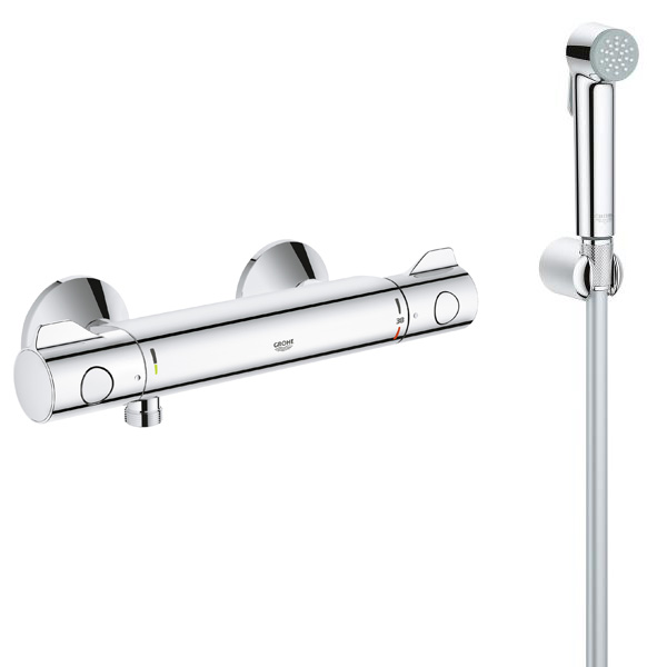 Grohe grohtherm 800 34558013 - Grohe grohtherm 800 ...
